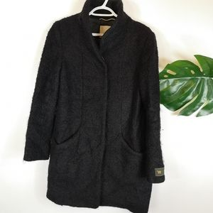Wilfred Italian bouncle wool coat